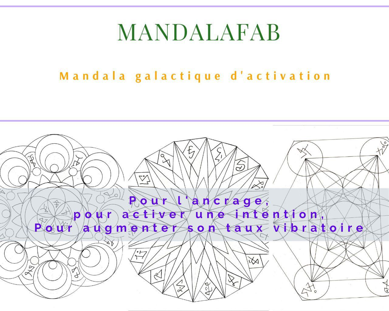 Ancrage, Intention, Taux vibratoire